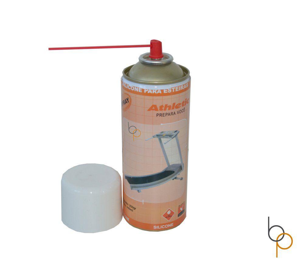 Silicone Lubrificante para Esteira Spray - Esteiras Athletic