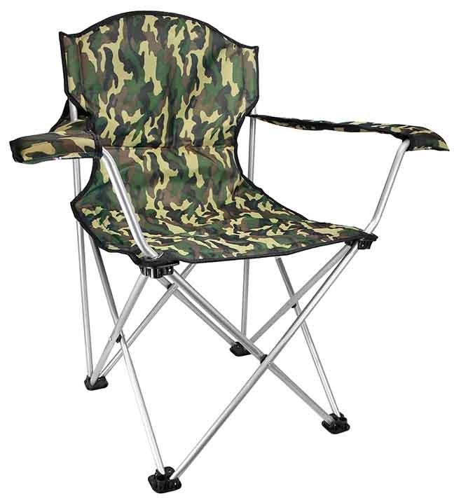 Cadeira Jogá Retrátil ( G ) C/ Descanço de Braco (Camuflado)