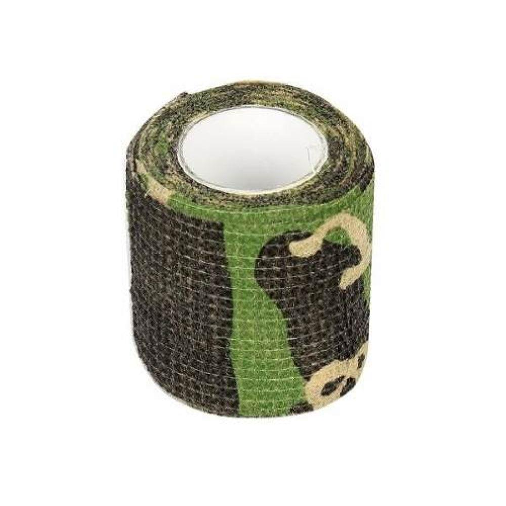 Camo Tape Fita Para Camuflagem/ Proteção de dedo 5M Camuflada