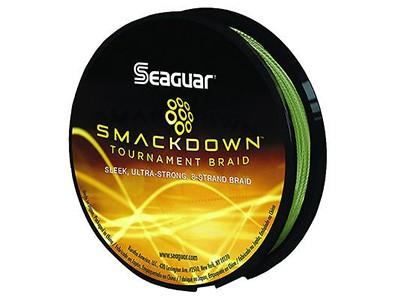 Linha Multifilamento Seaguar Smackdown Tournament  8 Fios Verde 137M