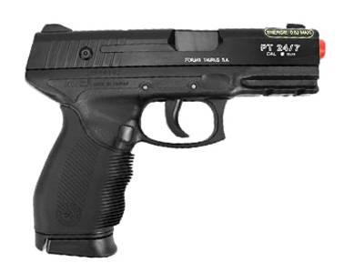 Pistola de Airsoft Spring Taurus Black 24/7 Cal.6MM