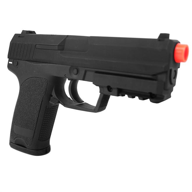 Pistola de Airsoft USP CM 125 Elet Plast Cal 6MM