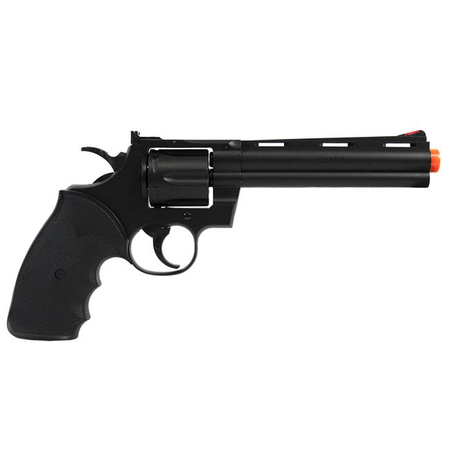 Revolver de Airsoft UHC Modelo Python Preto UA-938B cal 6mm
