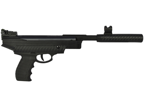 Pistola Pressão Hatsan Kit 25 Preta 4.5MM + Kit Coletor de Chumbinhos + Alvo