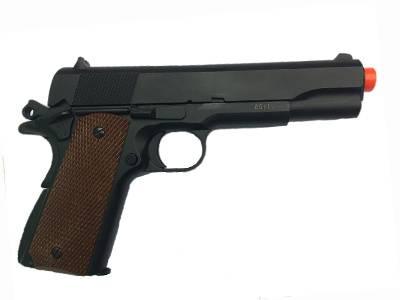 Pistola de Airsoft  Spring 1911 A2 Prata 6mm