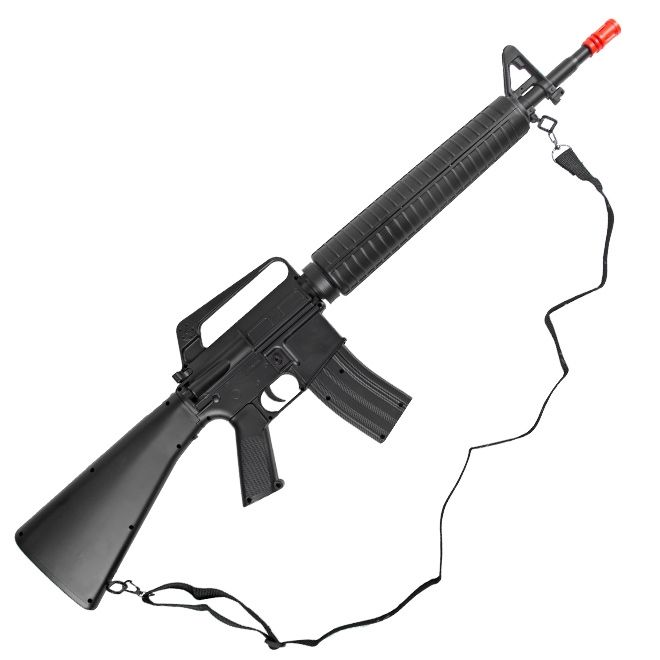 Rifle de Airsoft  Spring  M16 M16A2 (Toy) 6MM - Well