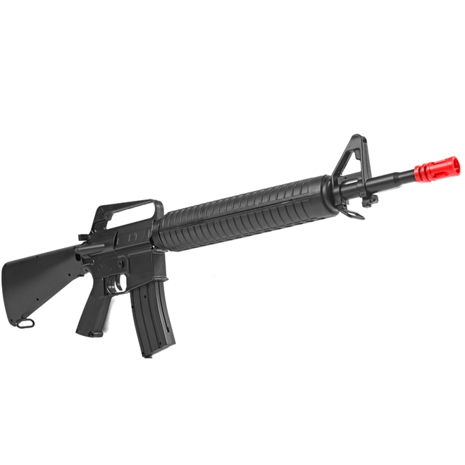 Rifle de Airsoft Spring  M16 M16A1 (Toy) 6MM - Well