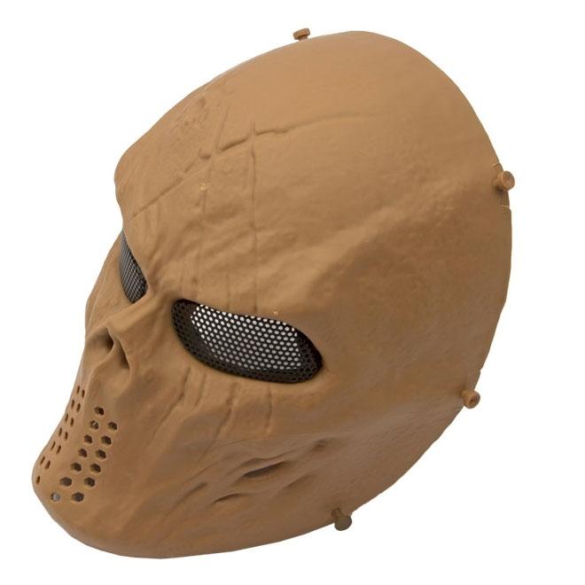 Máscara de Proteção Modelo Highlander c/ Tela - Tan