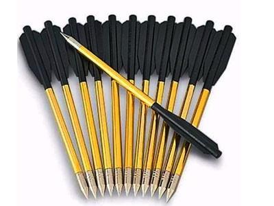 Setas de Carbono para Balestra Ponteira Metal 6.5