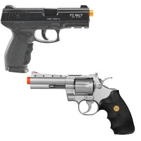 Pistolas e Revolveres Airsoft