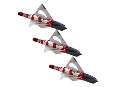 Kit 3 Ponteiras p/ flecha Crimson Talon Rosqueável Metal