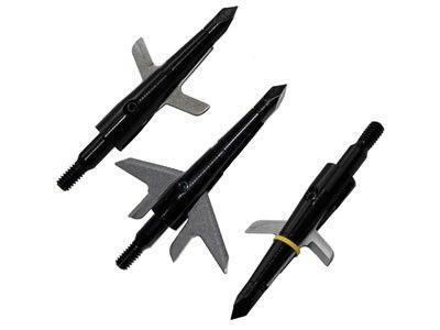 Kit 3 Ponteiras p/ flecha Swhacker Rosqueável Metal