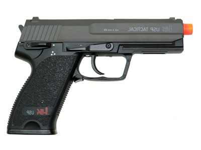 Pistola de Airsoft Usp Hek Tactical + Maleta de Plástico Rossi