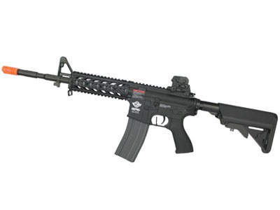 Rifle de Airsoft G&G M4 CM16 Raider Long Elet. BB 6MM