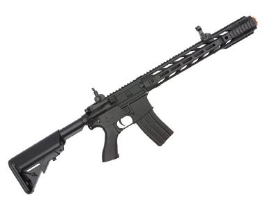 Rifle de Airsoft  M4a1 Cm518 Keymod Cyma Elet Cal 6mm - Preta