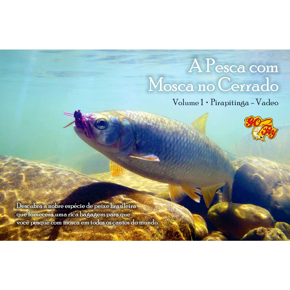 Livro A Pesca com Mosca no Cerrado (Leandro C. Vitorino)