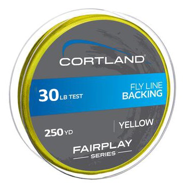 Backing Cortland Fairplay 30lb (250yd)