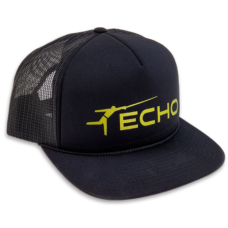Boné ECHO Black Foam Trucker Hat