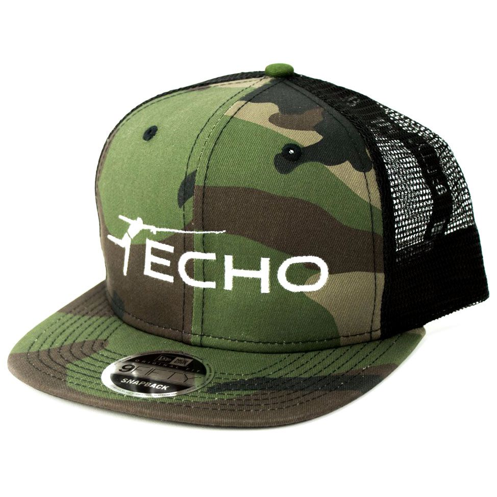Boné ECHO Flat Bill Trucker CAMO