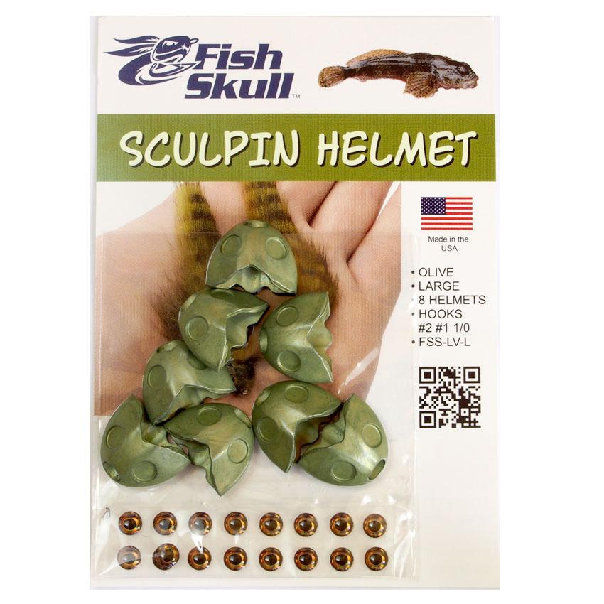 Cabeça Metálica Fish Skull Sculpin Helmet
