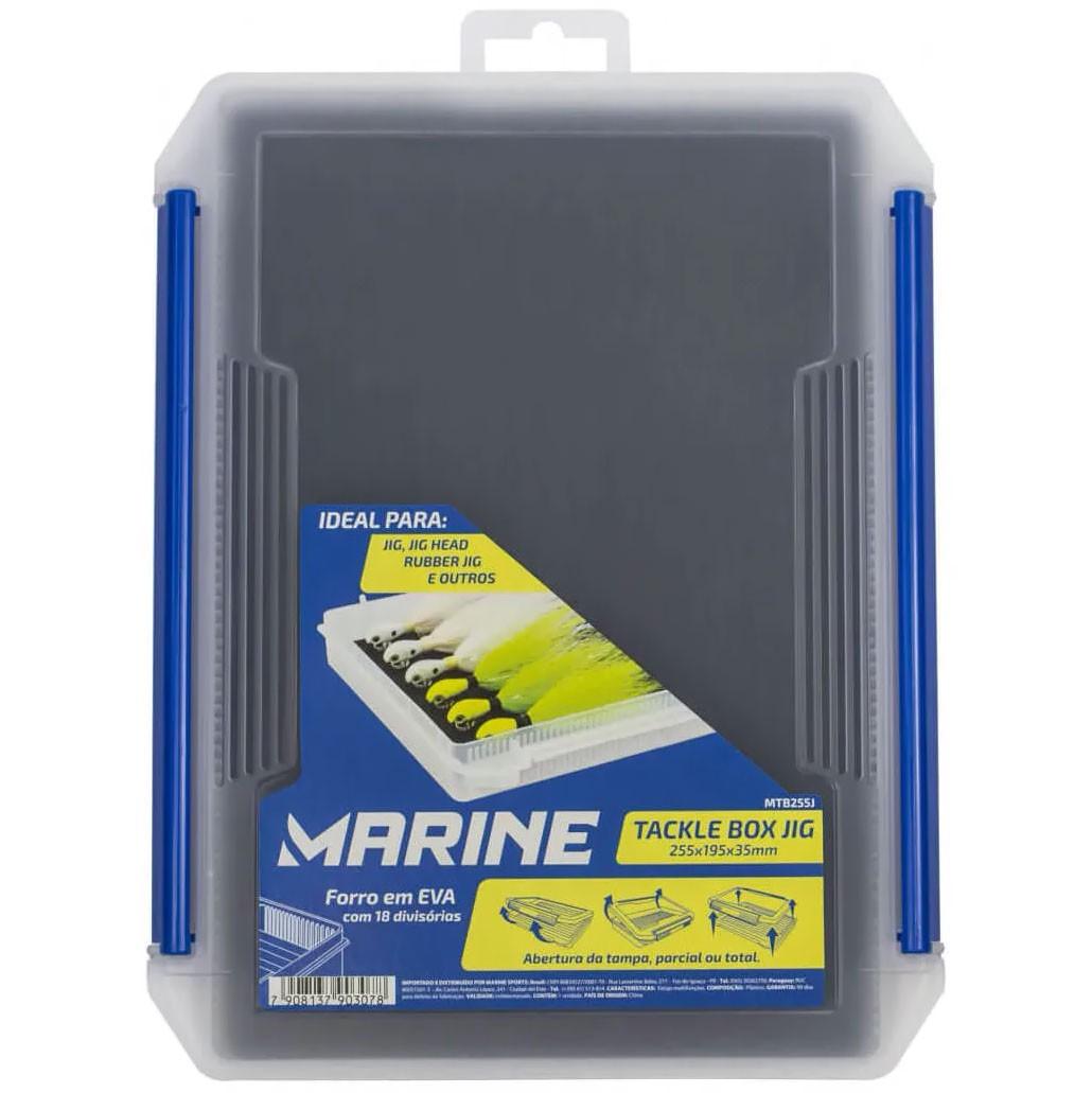 Caixa para Moscas e Jigs Marine Sports (25 x 19 cm)