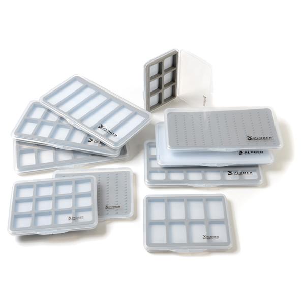 Caixa para Moscas Xplorer Slimline Magnetic 18 Fly Box