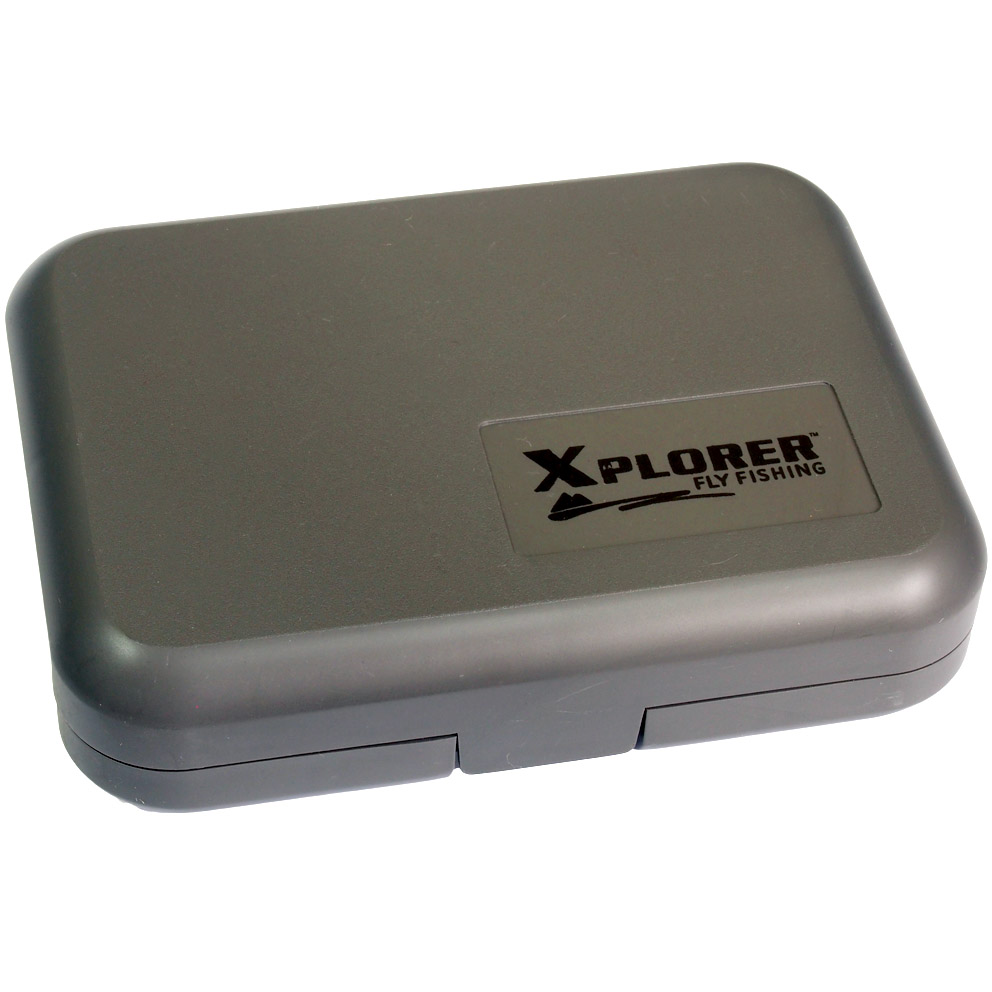 Caixa para Moscas Xplorer Slit Box With Center Leaf