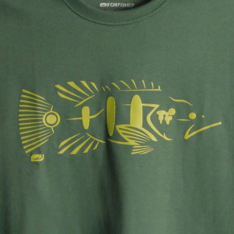 Camiseta For Fisher Estampa Tucunaré Tribal