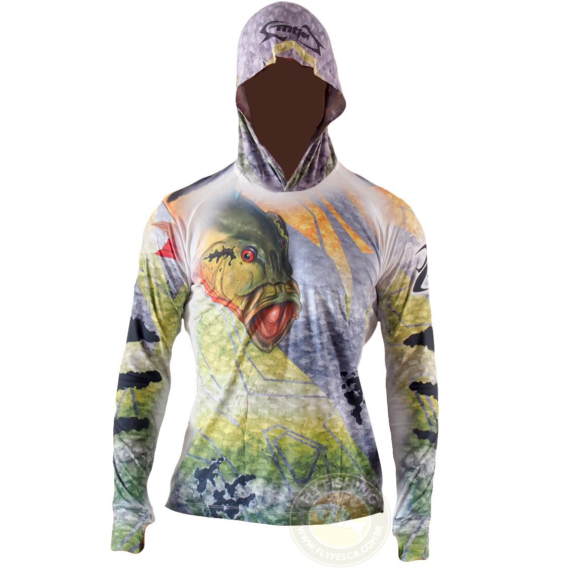 Camiseta MTK Eco Bio Capuz FPS 50+