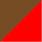 Marrom e Vermelho