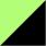 Verde claro e Preto