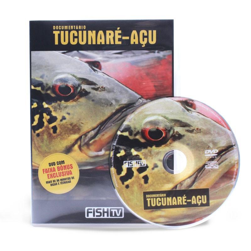 DVD Documentário Tucunaré-Açu