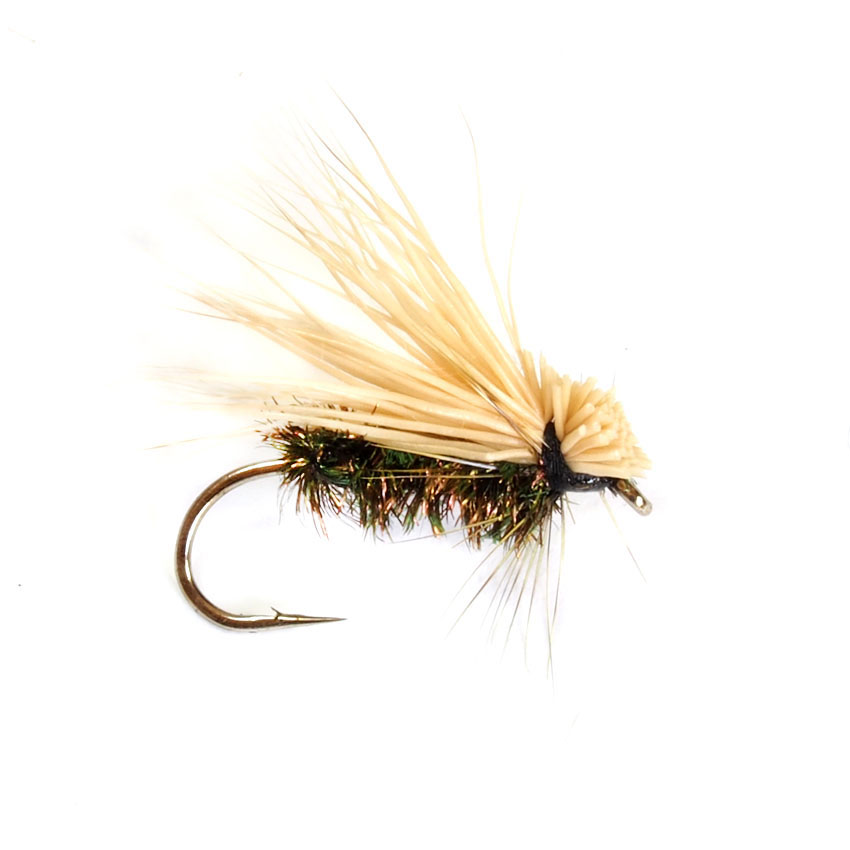 Elk Hair Caddis Peacock