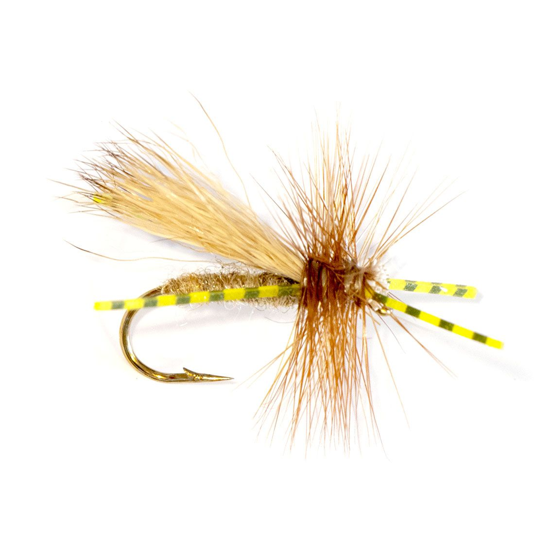 Elk Hair Caddis Rubber Legs
