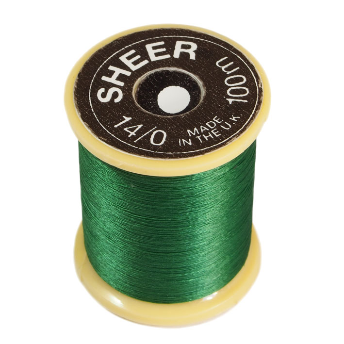 Fio Gordon Griffith 14/0 Sheer Ultrafine Thread 72 Denier