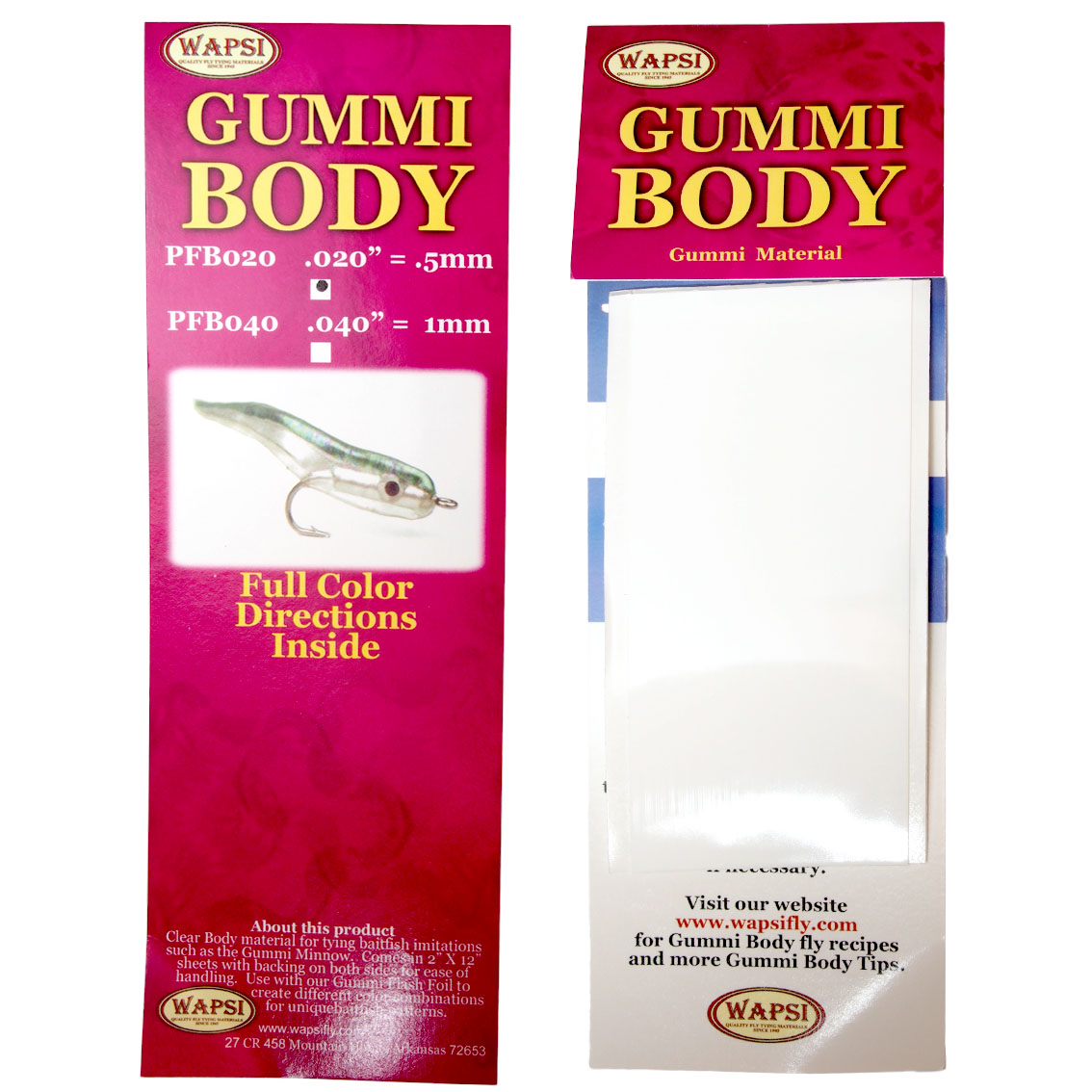 Gummi Body Wapsi
