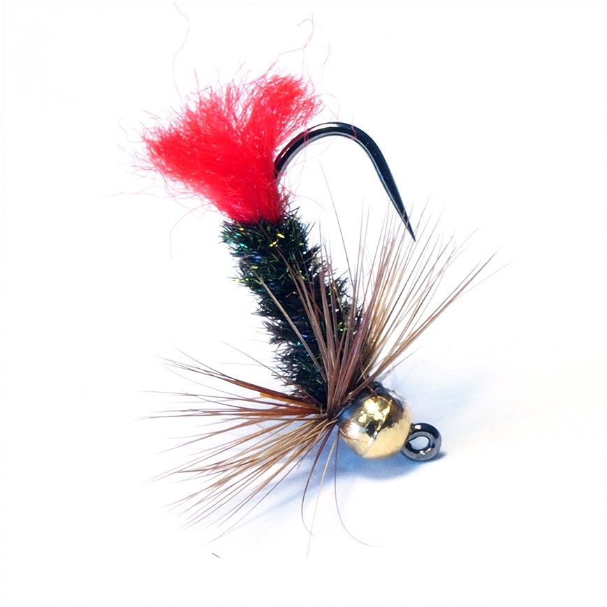 Jig Nymph Red Tag (Tungstênio)