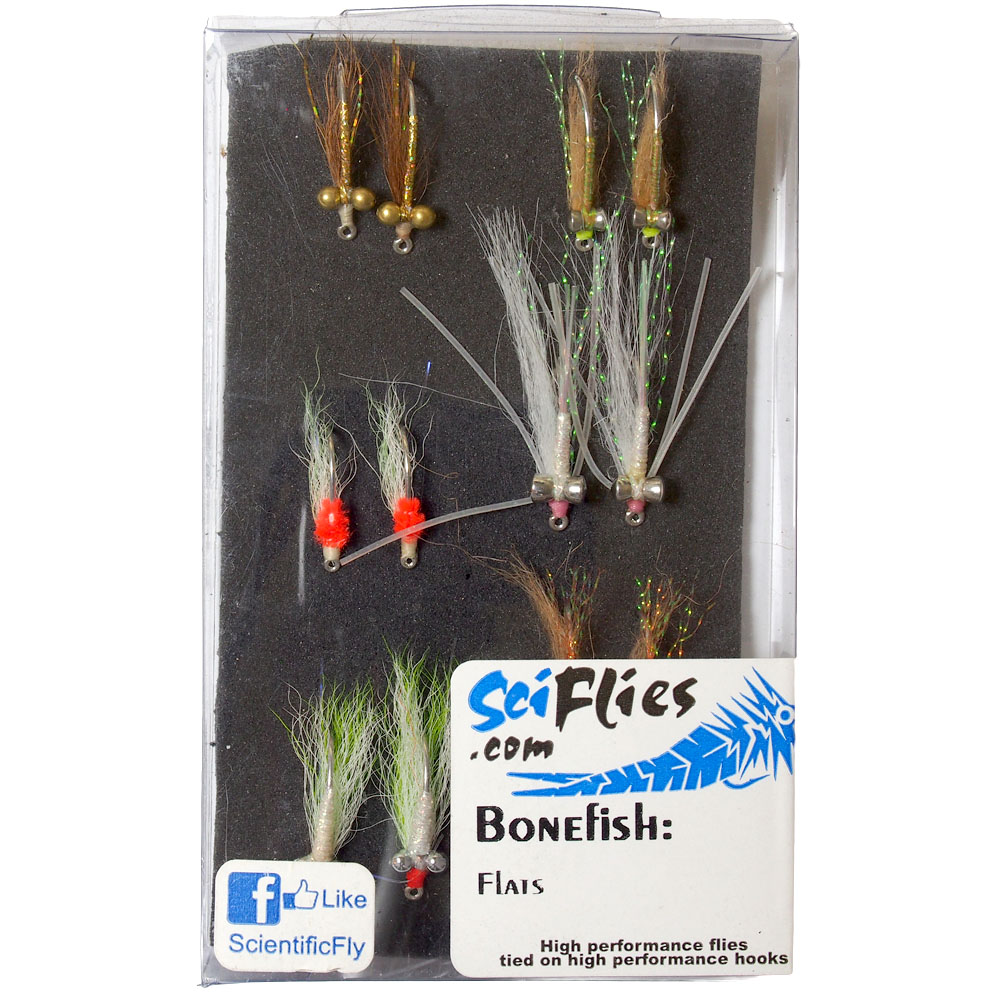 Kit de Moscas Bonefish Flats SciFlies