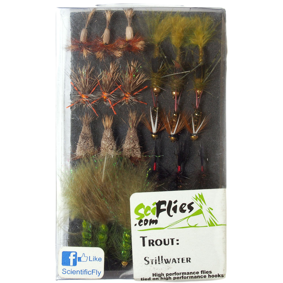 Kit de Moscas Trout Stillwater SciFlies