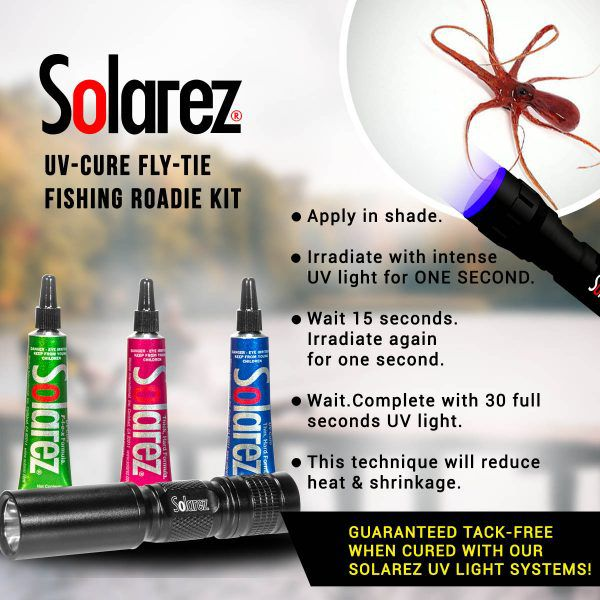 Kit de Resinas UV Solarez Rodie (com Lanterna)