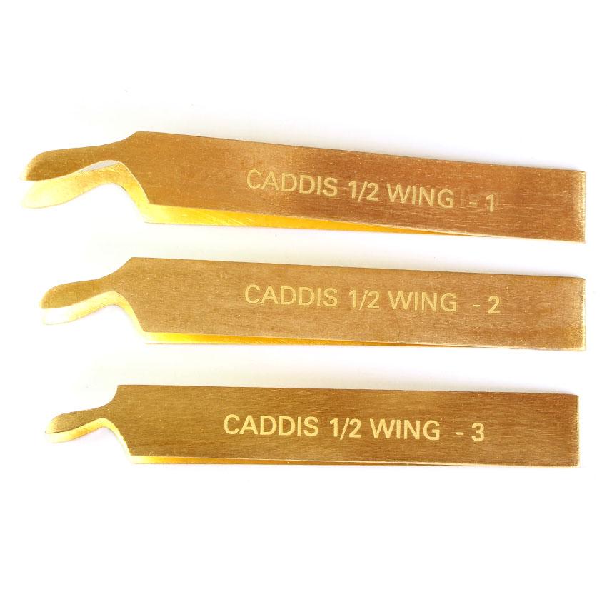 Kit para Confecção de Asas Terra Deluxe Caddis Wing Burner Set