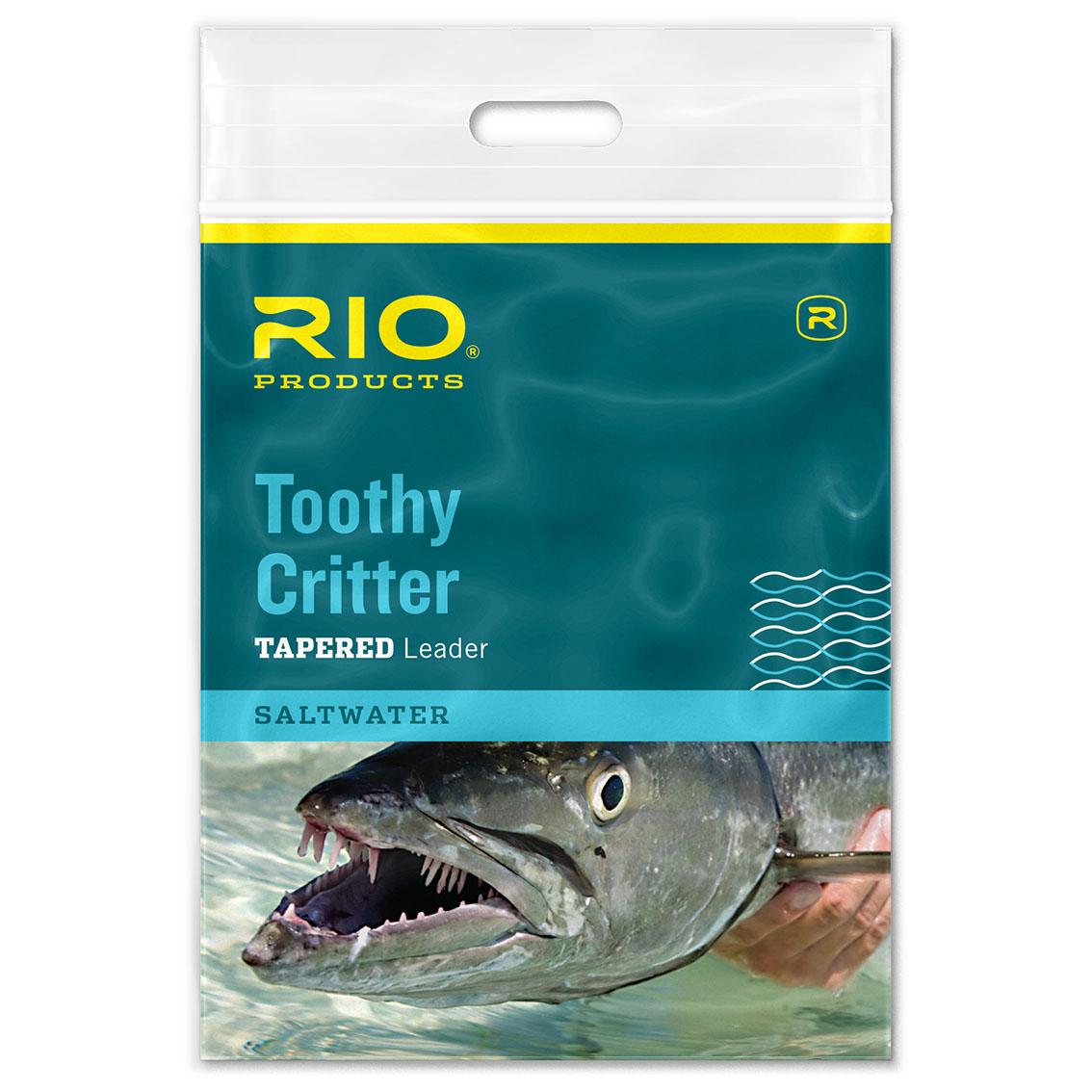 Leader RIO Toothy Critter 7,5' (com Cabo de Aço e Snap)
