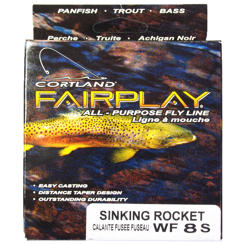 Linha Afundativa Cortland Fairplay WF-S