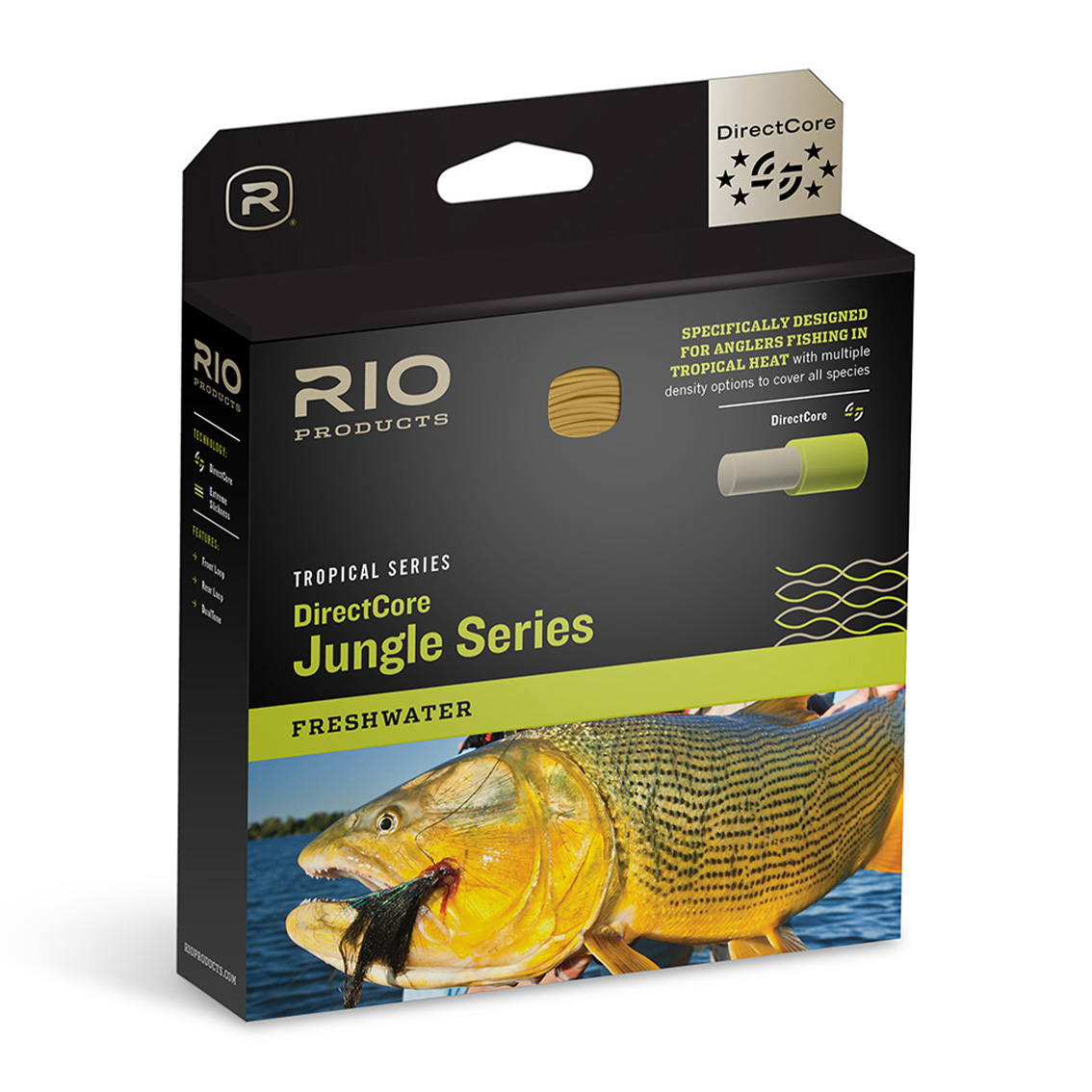 Linha de Fly RIO DirectCore Jungle Series (Sinking Tip) 3ips