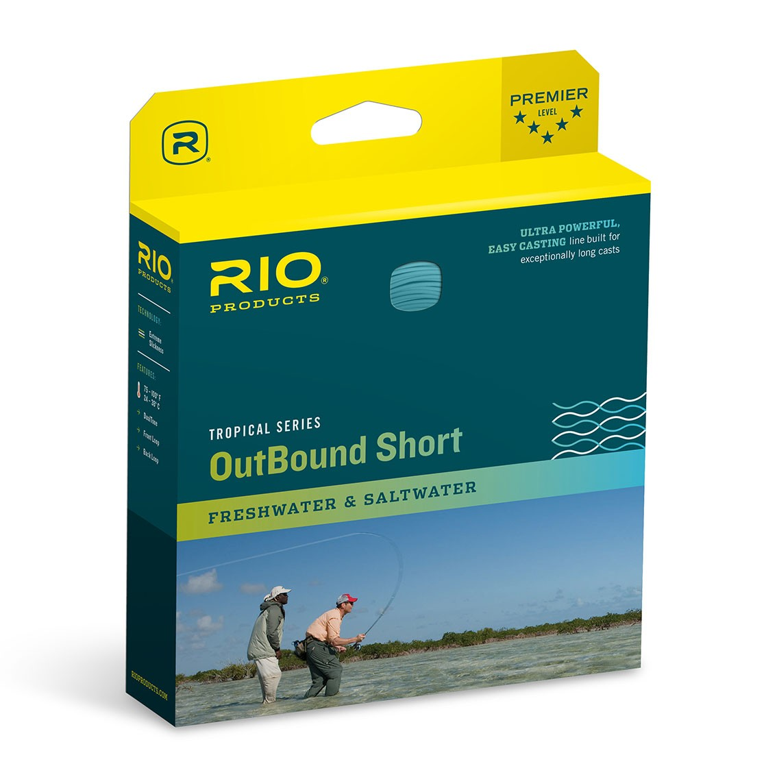 Linha de Fly RIO Tropical OutBound Short (Floating)
