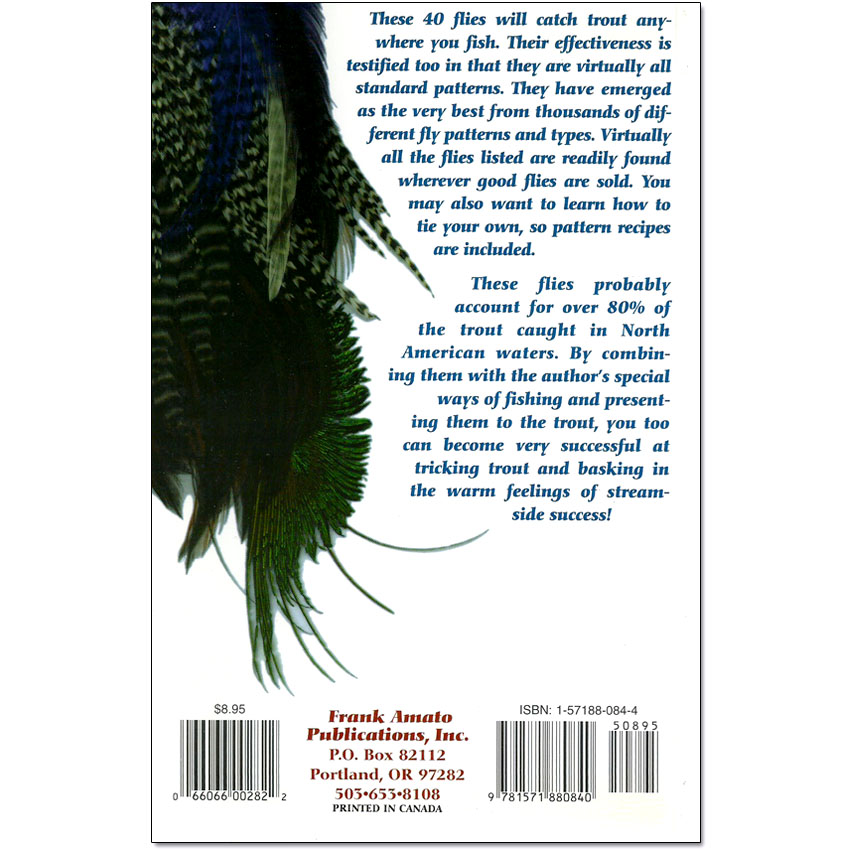 Livro 40 Best Trout Flies (Robert H. Alley)