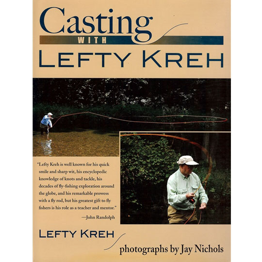 Livro Casting with Lefty Kreh (Lefty Kreh)