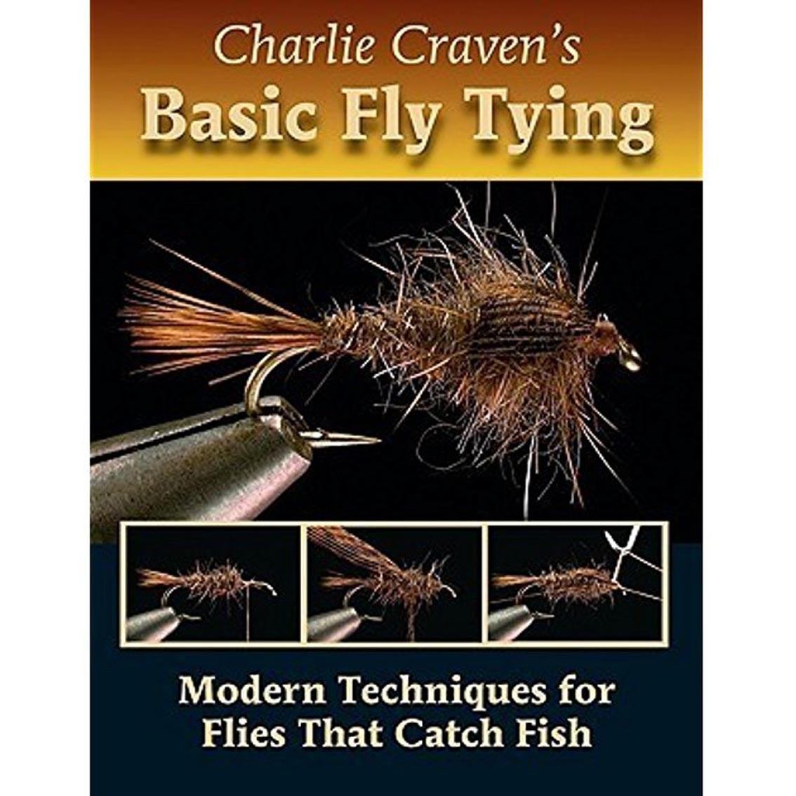 Livro Charlie Craven's Basic Fly Tying (Charlie Craven)