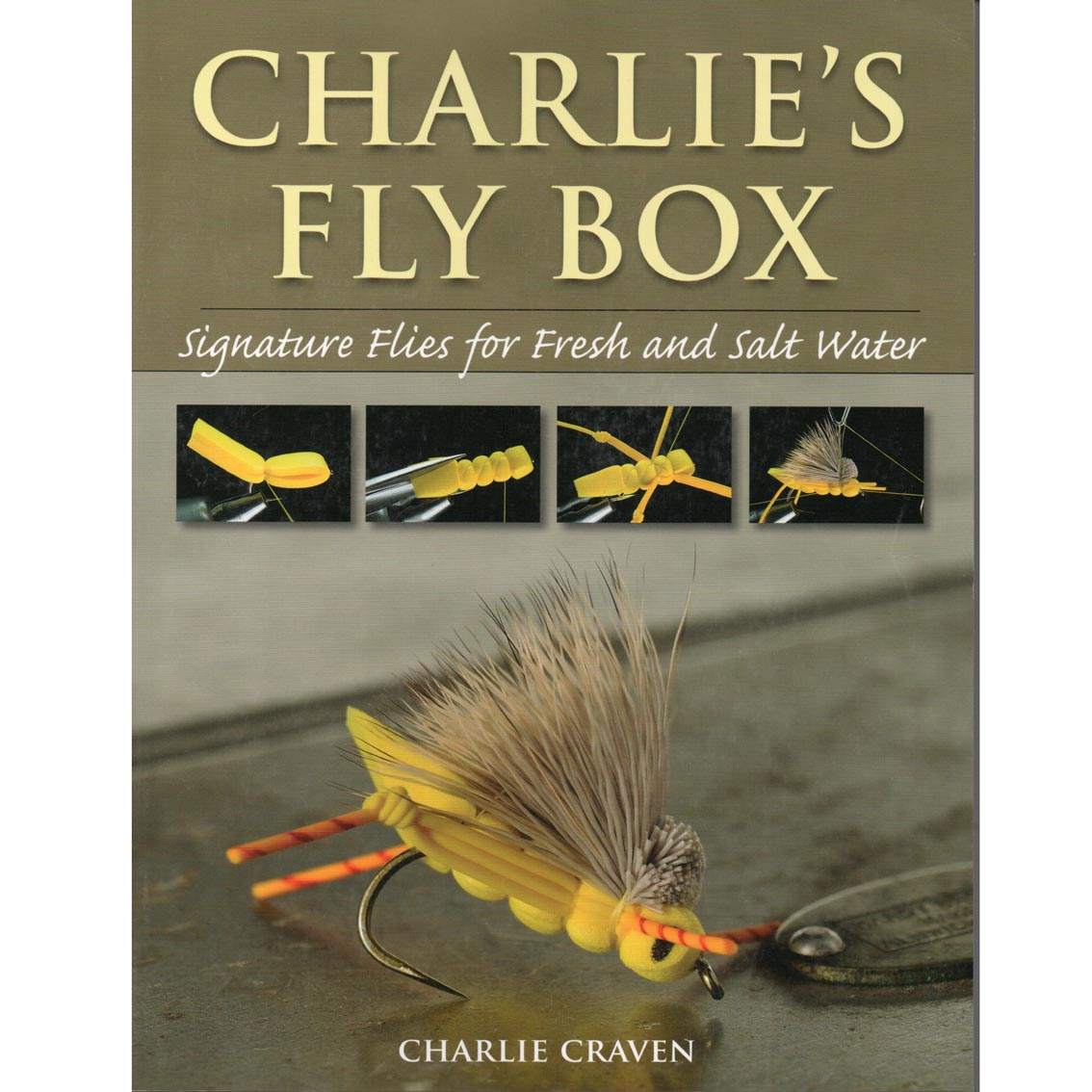 Livro Charlie's Fly Box (Charlie Craven)