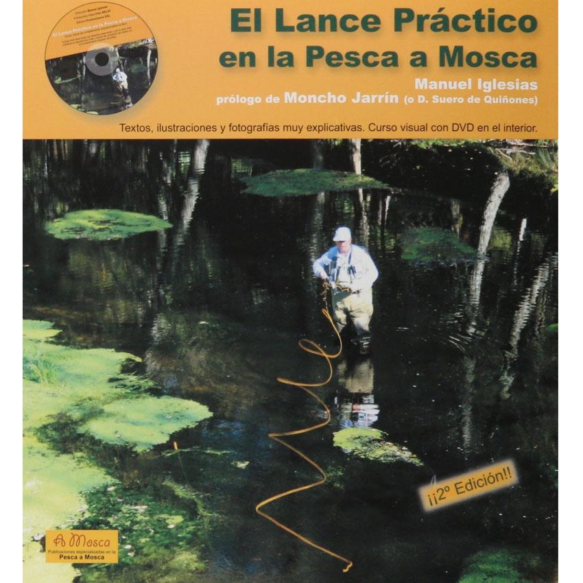 Livro com DVD El Lance Práctico en la Pesca a Mosca (Manuel Iglesias)